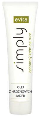 Evita Simply ochranný krém na ruce s olejem z hroznových jader á 100 ml