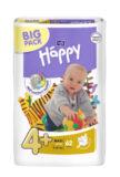 HAPPY MAXI Plus Big Pack á 62 ks